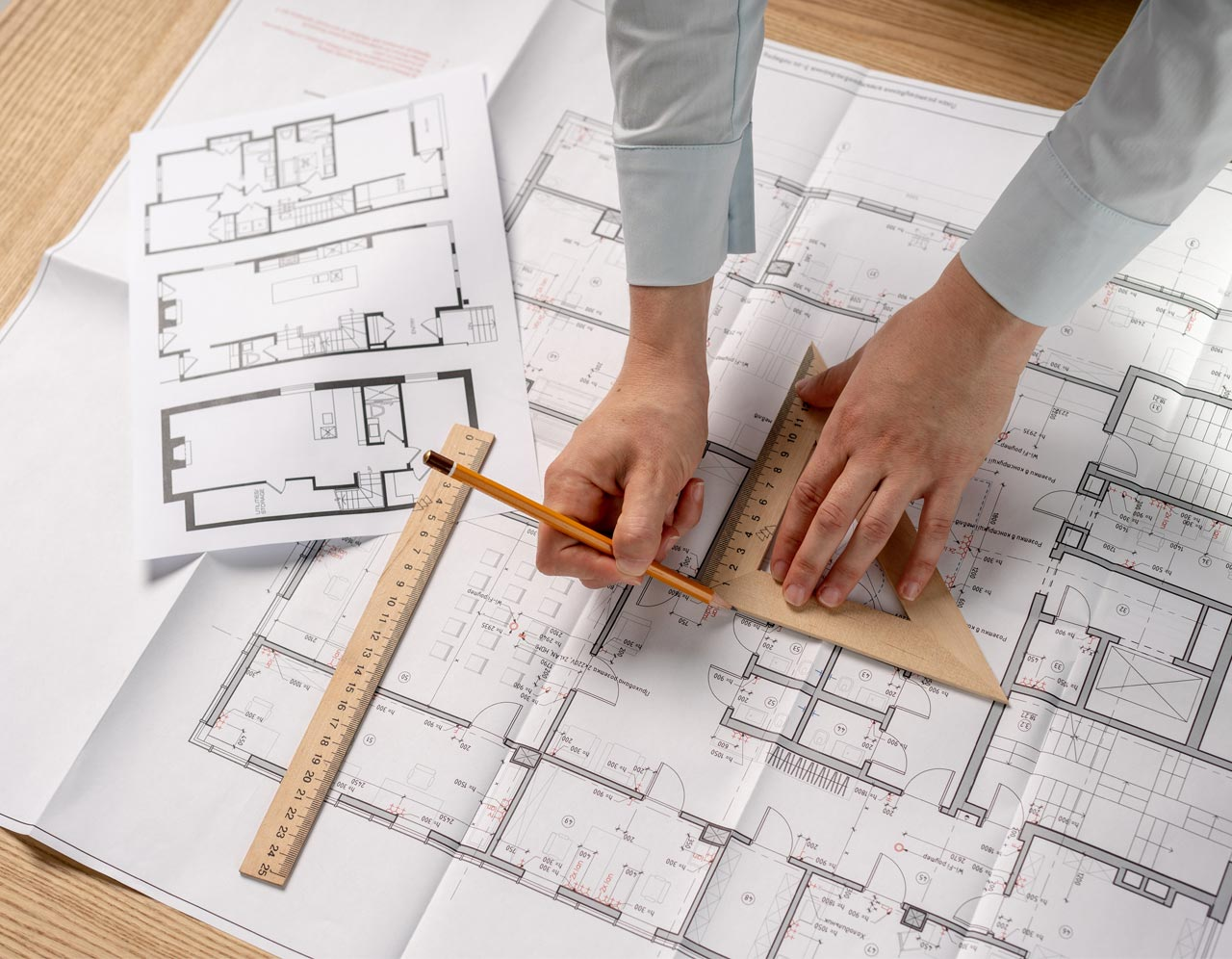 Planning Drawings by K and A Chartered Surveyors